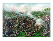 Civil War -- Battle of Five Forks by warishellstore