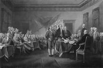 Signing The Declaration of Independence von warishellstore