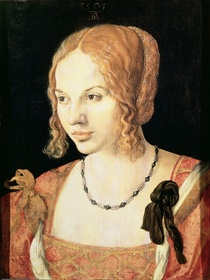 Young Venetian Woman by Albrecht Dürer