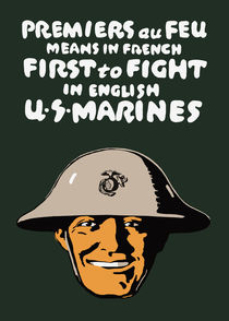 US Marines -- First To Fight by warishellstore