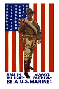 Always Faithful -- Be A U.S. Marine von warishellstore
