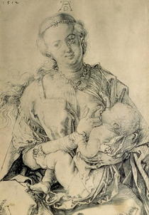 Virgin Mary suckling the Christ Child by Albrecht Dürer