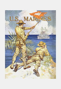 763-22-us-marines-vintage-world-war-1-recruiting-poster