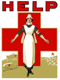 Vintage Red Cross -- Help Nurse von warishellstore
