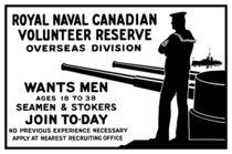 Royal Naval Canadian Volunteer Reserve von warishellstore