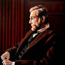 Abraham Lincoln by Daniel Day-Lewis by Paul Meijering