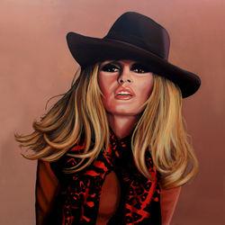 Brigitte-bardot-painting