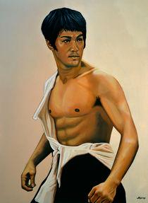Bruce Lee painting von Paul Meijering