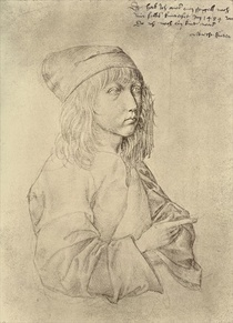 Self portrait at the age of thirteen by Albrecht Dürer