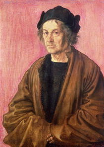 Albrecht Durer`s Father by Albrecht Dürer