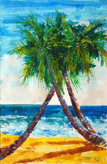 South Beach Palms von Thom Lupari