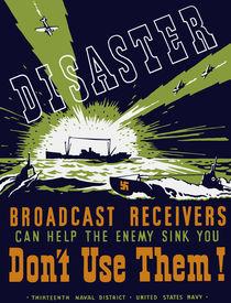 Broadcast receivers can help the enemy sink you -- WPA von warishellstore