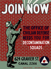 Join Civilian Defense -- WPA von warishellstore