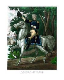 General Andrew Jackson On Horseback by warishellstore