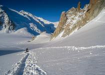 Col du MIdi glacier walk by Chris Warham