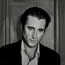 Andy Garcia painting by Paul Meijering