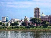 Harrisburg Pa Skyline II by Susan Savad