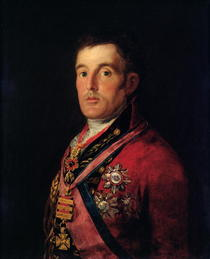 The Duke of Wellington  von Francisco Jose de Goya y Lucientes