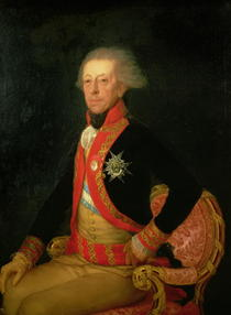 General Antonio Ricardos  by Francisco Jose de Goya y Lucientes