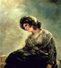 The Milkmaid of Bordeaux von Francisco Jose de Goya y Lucientes