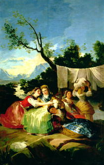 The Washerwomen von Francisco Jose de Goya y Lucientes