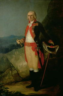 General Jose de Urrutia  von Francisco Jose de Goya y Lucientes