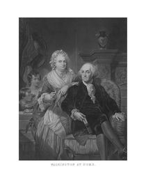 President Washington At Home by warishellstore