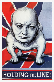 Winston Churchill -- Holding The Line! von warishellstore