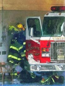 Firemen - Inside the Fire Station von Susan Savad