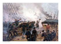 Battle Between Kearsarge And Alabama -- Civil War  von warishellstore