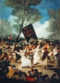 The Burial of the Sardine  von Francisco Jose de Goya y Lucientes