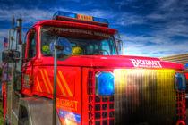 Backdraft Fire Truck by David Pyatt