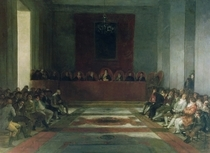 The Junta of the Philippines von Francisco Jose de Goya y Lucientes