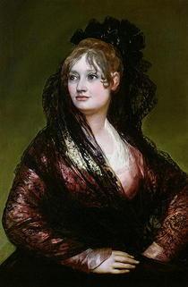 Dona Isabel de Porcel by Francisco Jose de Goya y Lucientes