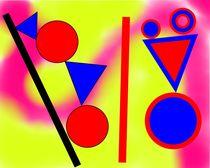 Tanzende Geometrie von manfred richter