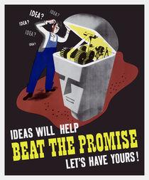 Ideas Will Help Beat The Promise -- WWII von warishellstore