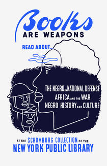 Books Are Weapons -- WPA by warishellstore
