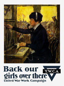 Back Our Girls Over There -- YWCA von warishellstore