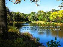 Proverb 4:18 Path of the Just von Susan Savad