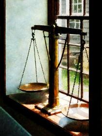 Scales of Justice by Susan Savad