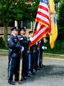 Police Color Guard von Susan Savad