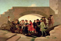 The Wedding by Francisco Jose de Goya y Lucientes