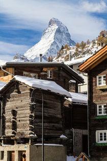 Zermatt mit Matterhorn by Jan Schuler