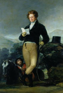 Portrait of Don Francisco de Borja Tellez Giron  von Francisco Jose de Goya y Lucientes