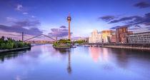 Düsseldorfer Rheinturm II von photoart-hartmann