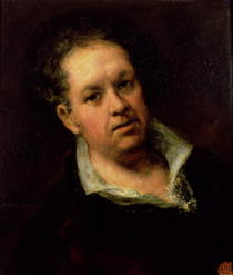 Self Portrait von Francisco Jose de Goya y Lucientes