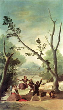 The Swing von Francisco Jose de Goya y Lucientes