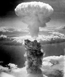 Mushroom Cloud Over Nagasaki by warishellstore