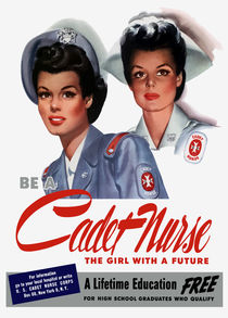 Be A Cadet Nurse - The Girl With A Future von warishellstore
