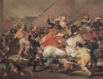 The Second of May, 1808. The Riot against the Mameluke Mercenari by Francisco Jose de Goya y Lucientes